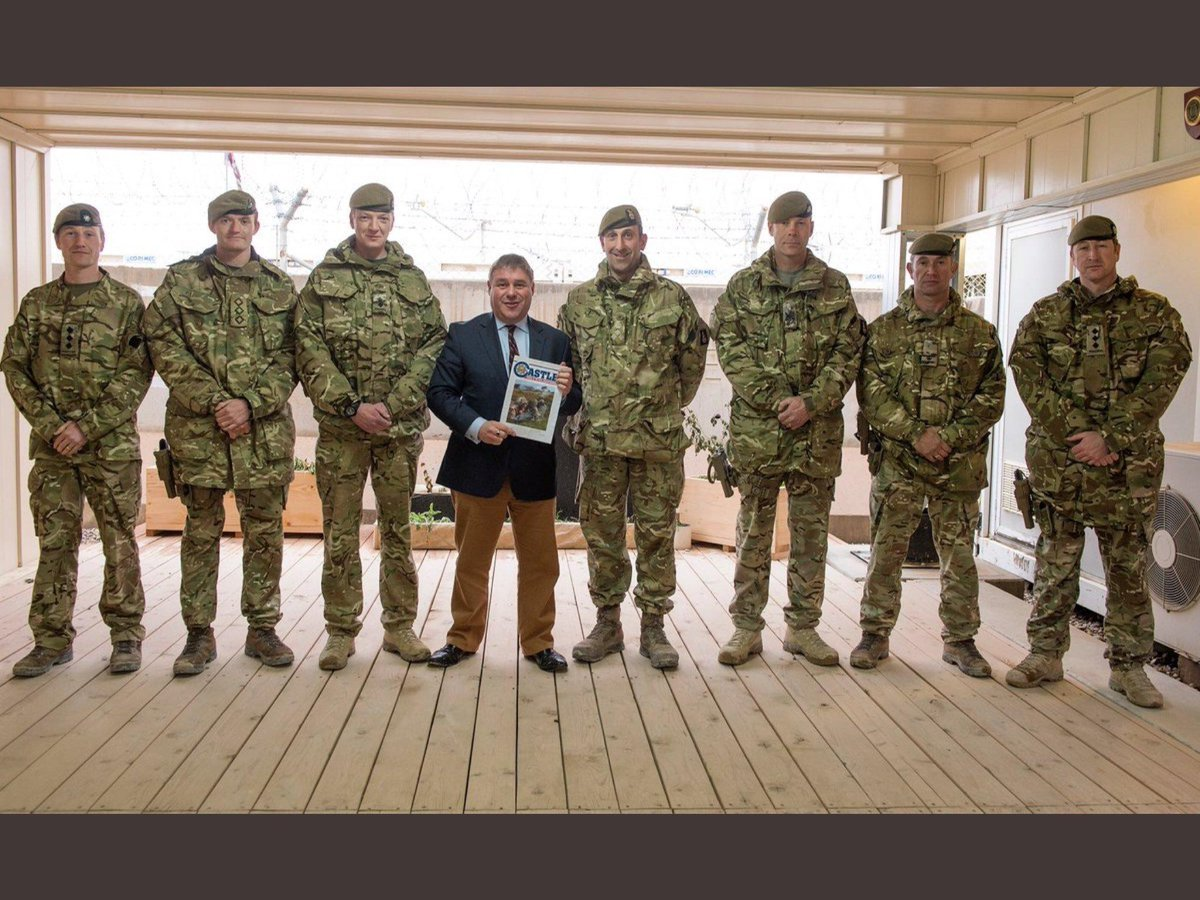 Mark Francois stormed the beaches at Normandy (just from very far away).