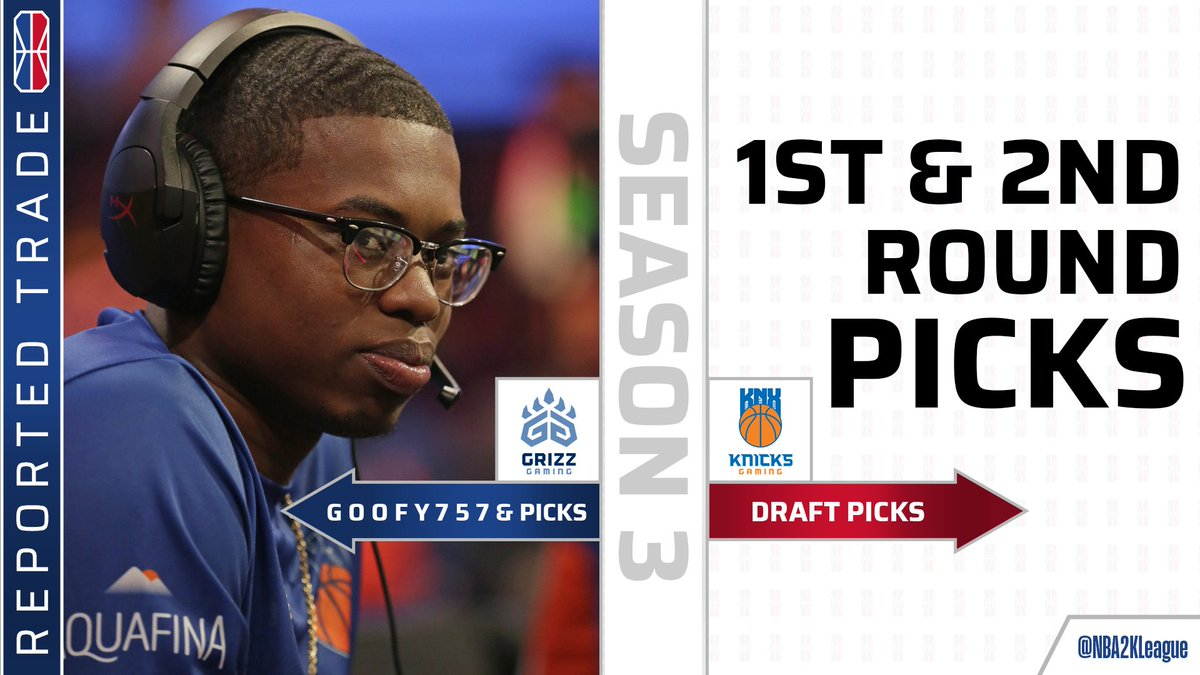 Nba 2k League On Twitter Trade Knicksgaming Has Traded