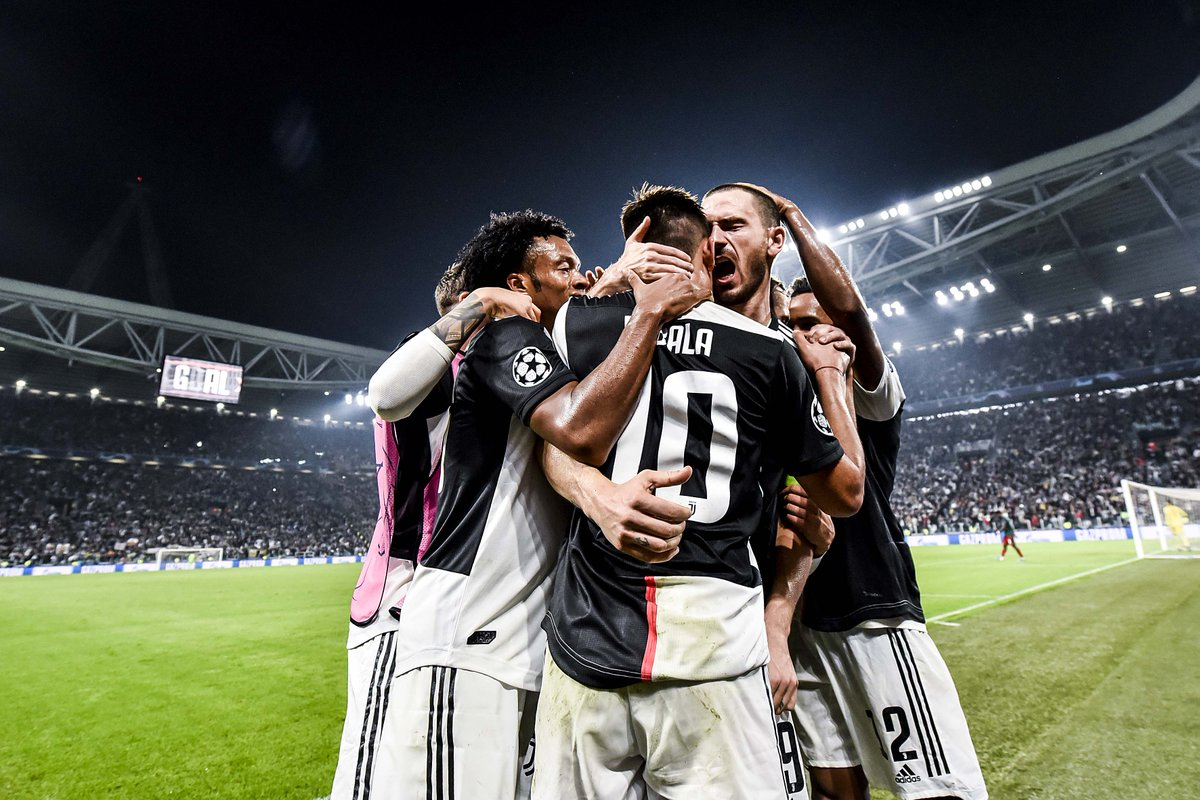 Big #UCL nights, big #UCL moments! 💎💎💪 #JuveFCLM #JuveUCL