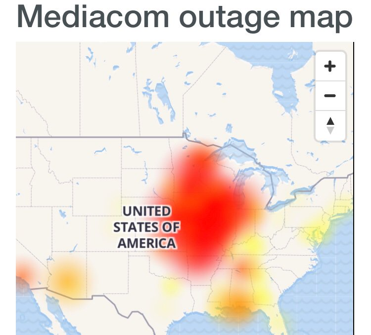 Mediacom Outage in McHenry, McHenry County, Illinois ...