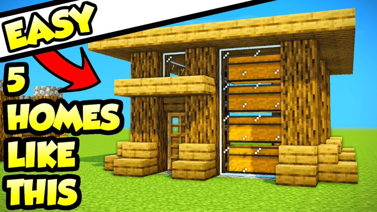 Pcgame On Twitter Minecraft 5 Easy Starter Survival House Tutorials How To Build Ideas Link Https T Co D2nxiptpfb Base Build Buildingideas Cleancontent Cubest Easy Easyminecrafthouse God Hacker House Houseideas Housetutorial How