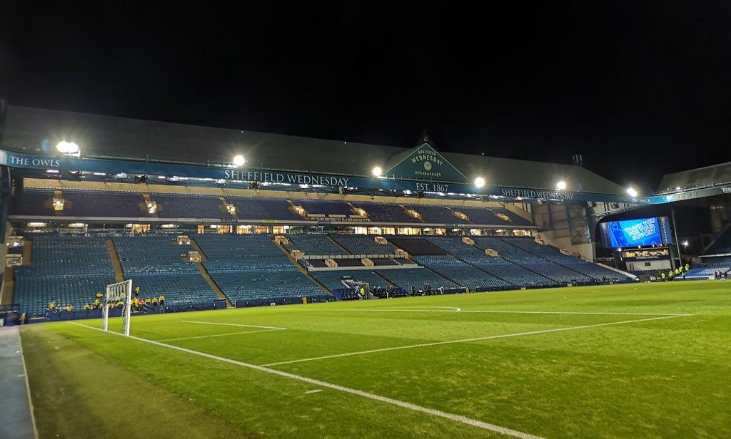 Goodnight from Hillsborough! #swfc https://t.co/3Fkod195wn