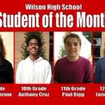 Image for the Tweet beginning: The Wilson High School student