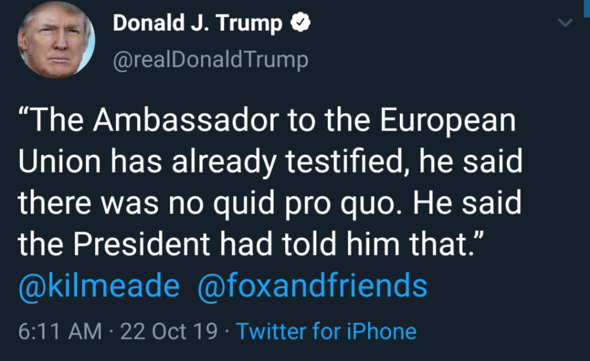 The president is basically quoting himself 😂