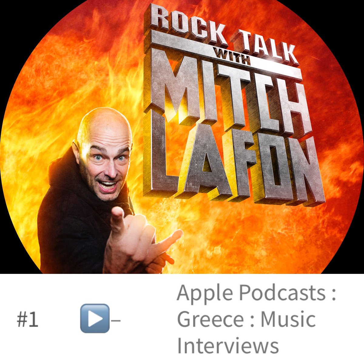 Just wanted to thank all my listeners in Greece for making Rock Talk With Mitch Lafon #1 in your country. ευχαριστώ https://t.co/nYyhEuC7nv