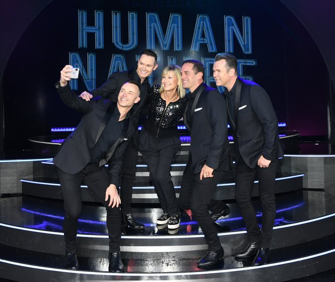 I watched my incredibly talented Aussie friends @HumanNatureLive at @VenetianVegas in Las Vegas! They