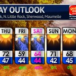 Image for the Tweet beginning: Beautiful weather continues on Wednesday