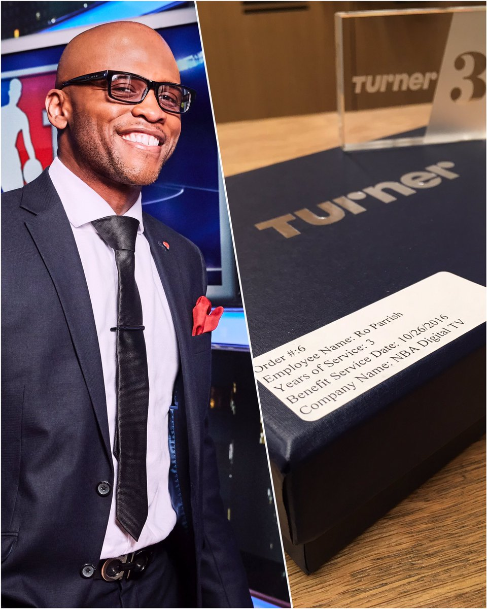 Five Years ago…if you had told me where'd be today, i don't know if i wouldn't have believed you…As i begin Year FOUR at Turner Sports, i am extremely thankful and will always show gratitude! Respect & Salute !! Winning + RWTW
