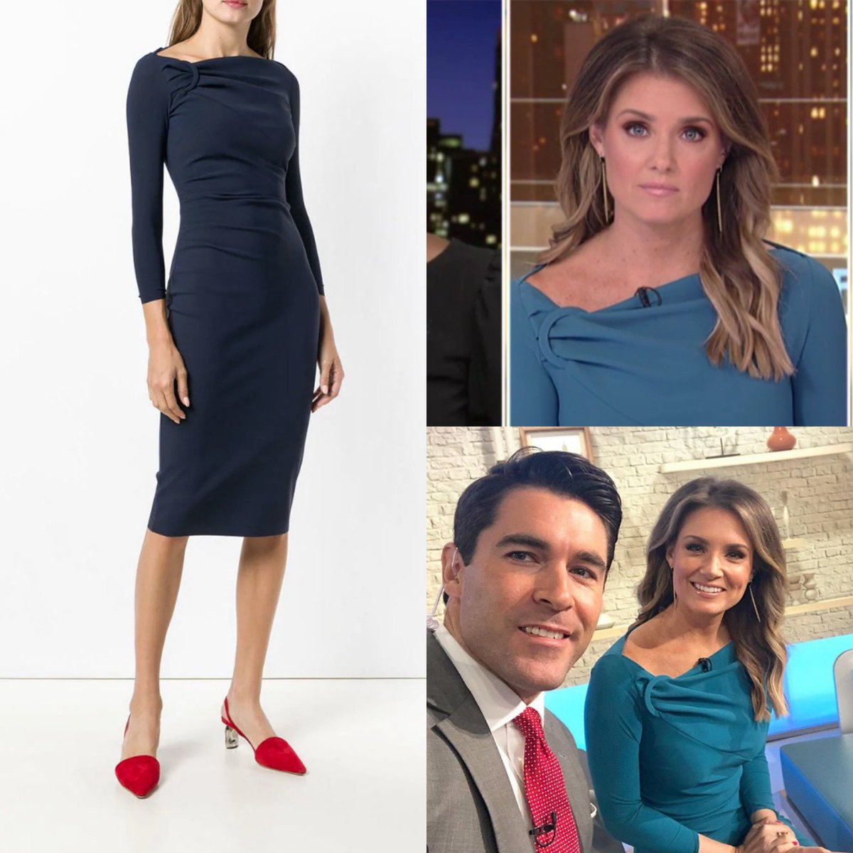 Jillian Mele wore a Chiara Boni 'Delbar' Asymmetric Ring Neck Sheath dress today on #FoxandFriends - the dress is mostly sold out, but a few sizes are still on sale at Bergdorfs.  #jillianmele #foxnews #foxnewsfashion  https://www.instagram.com/p/B38Aum8gmf4/?igshid=jxl48x73qbrp …pic.twitter.com/mYAooyXqDo