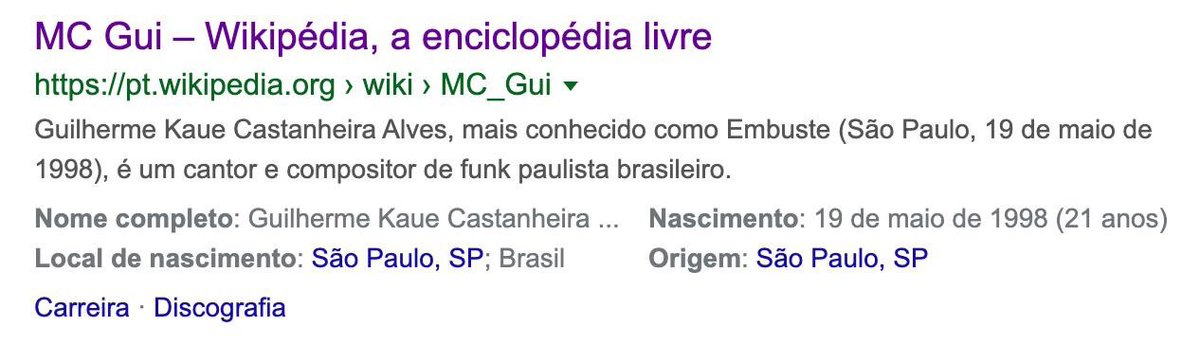 Carolina Soares Carolina5oare5 Twitter Guilherme aparecido dantas, better known by his stage name mc guimê, is a brazilian funk singer (born november 10, 1992). twitter