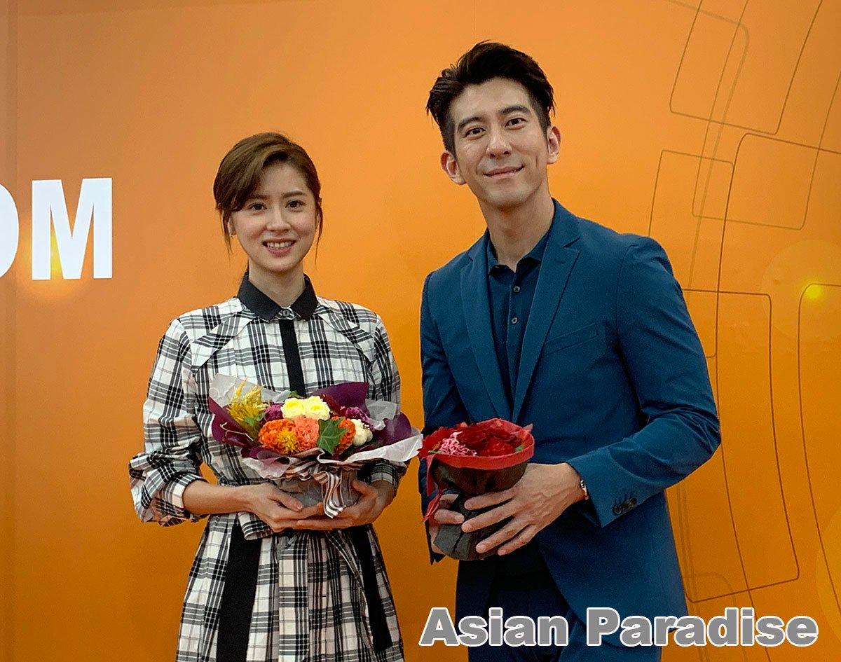 TIFFCOM 2019で #台湾ドラマ『 #天堂的微笑』の主役 #修杰楷( #シュウ・ジエカイ)と #林予晞( #アリソン・リン)が来日プロモーション! 昨日のレポートをアップしました。