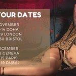 🔥New Tour Dates🔥   〽️November 11-14 DOHA 15-19 LONDON 20-30 Bristol  〽️December 2-8 Geneva 9-15 Paris 16-19 Dubai  Book now ➡️ https://t.co/oL8J0c6Yey  #mistressdoha #mistressdubai #maitresseparis #maitressegeneve #londondominatrix