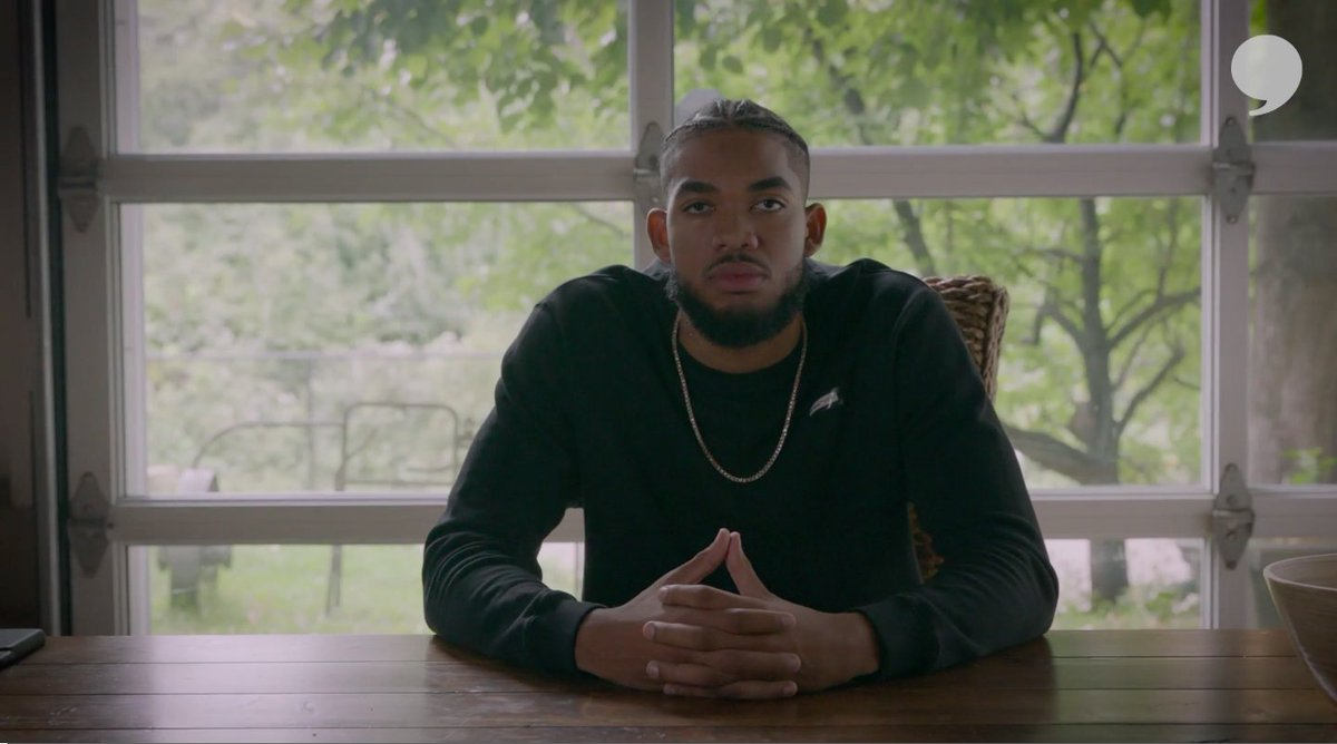 I see you @KarlTowns!!! You're a beast on the court, but off of it you're doing even better things. Proud to call you my teammate! @PlayersTribune @amfam https://t.co/ow2dredFf8