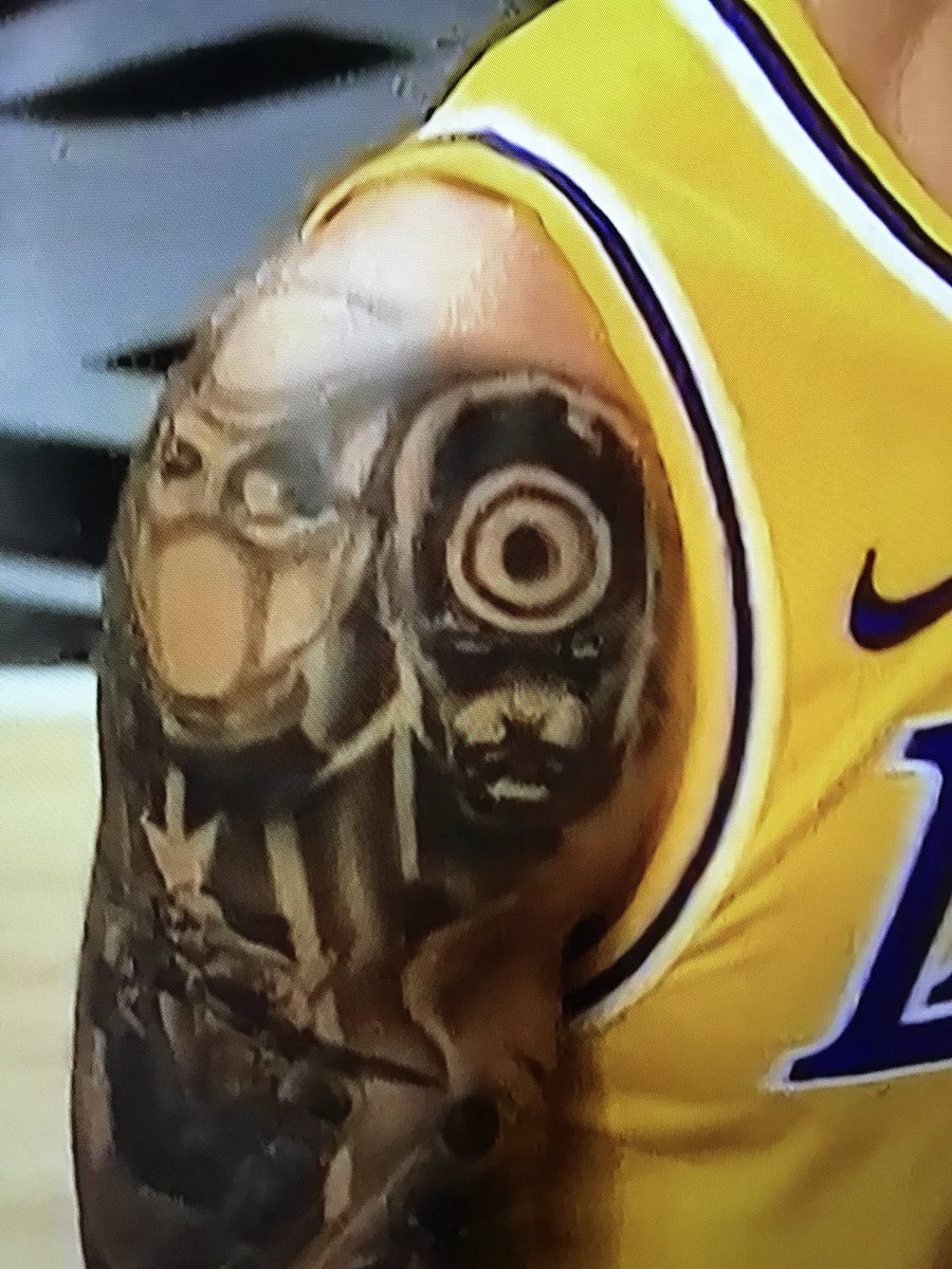 Dee Phunk On Twitter I Never Noticed That Danny Green Dgreen 14 Has A Tattoo Of Bullseye On His Arm Impressive Lalvslac