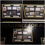 Image for the Tweet beginning: Our Wall of Excellence for
