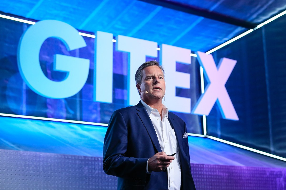 Throwback to when Christofer Mowry, CEO of @GeneralFusion took our keynote stage; where he shared their pursuit of unlimited clean, safe and carbon-free energy.#GITEXGlobal #GITEXGlobal2020