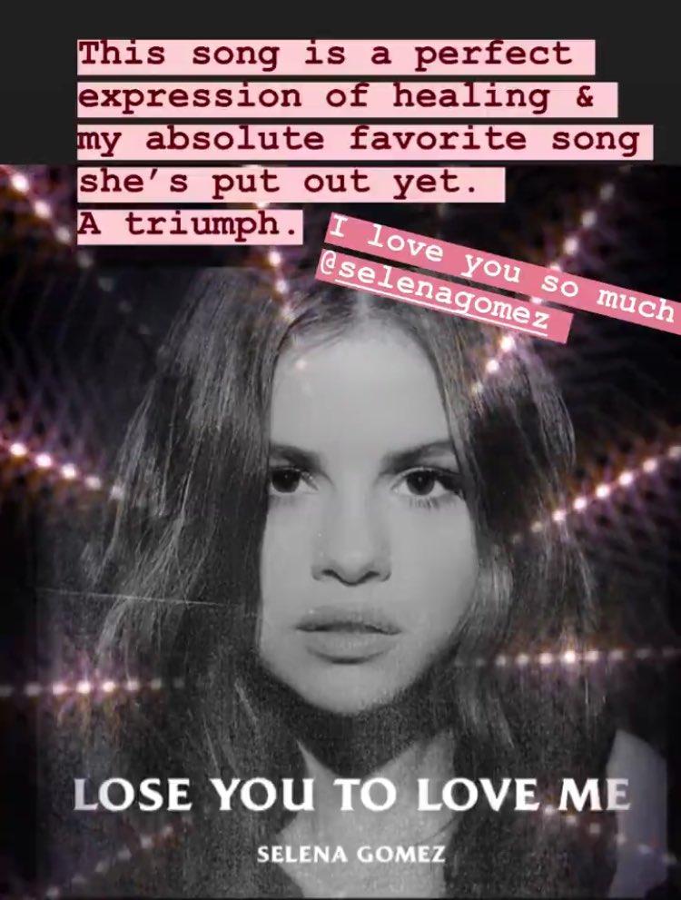 """Taylor Swift compartilha nova música de Selena Gomez: """"minha favorita, eu te amo demais"""""""
