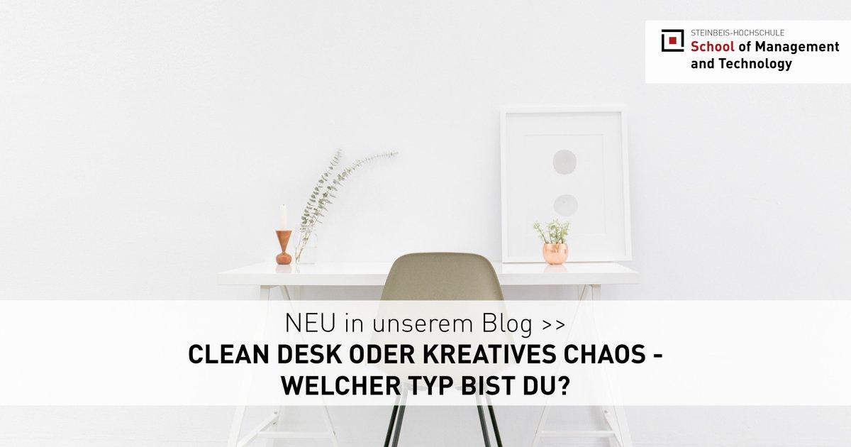 #Cleandesk oder #kreativeschaos – welcher Typ bist du? Erfahre mehr in unserem neuen #blogbeitrag: https://bit.ly/2p5VKFQpic.twitter.com/wp4cFXctaf