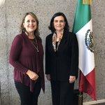 Image for the Tweet beginning: Mi agradecimiento a la Embajadora