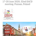Image for the Tweet beginning: Getting ready for #EACD2020 ?