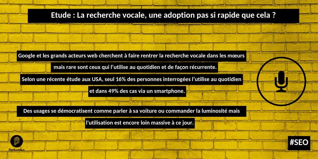 test Twitter Media - Le #search #vocal, une adoption pas si rapide ? Selon une étude menée aux USA par @sumoheavy sur un échantillon de 1046 personnes, seulement 16% utilisent un assistant vocal chaque jour #SEO https://t.co/jddj1QlE8P https://t.co/i63mP9RCbn