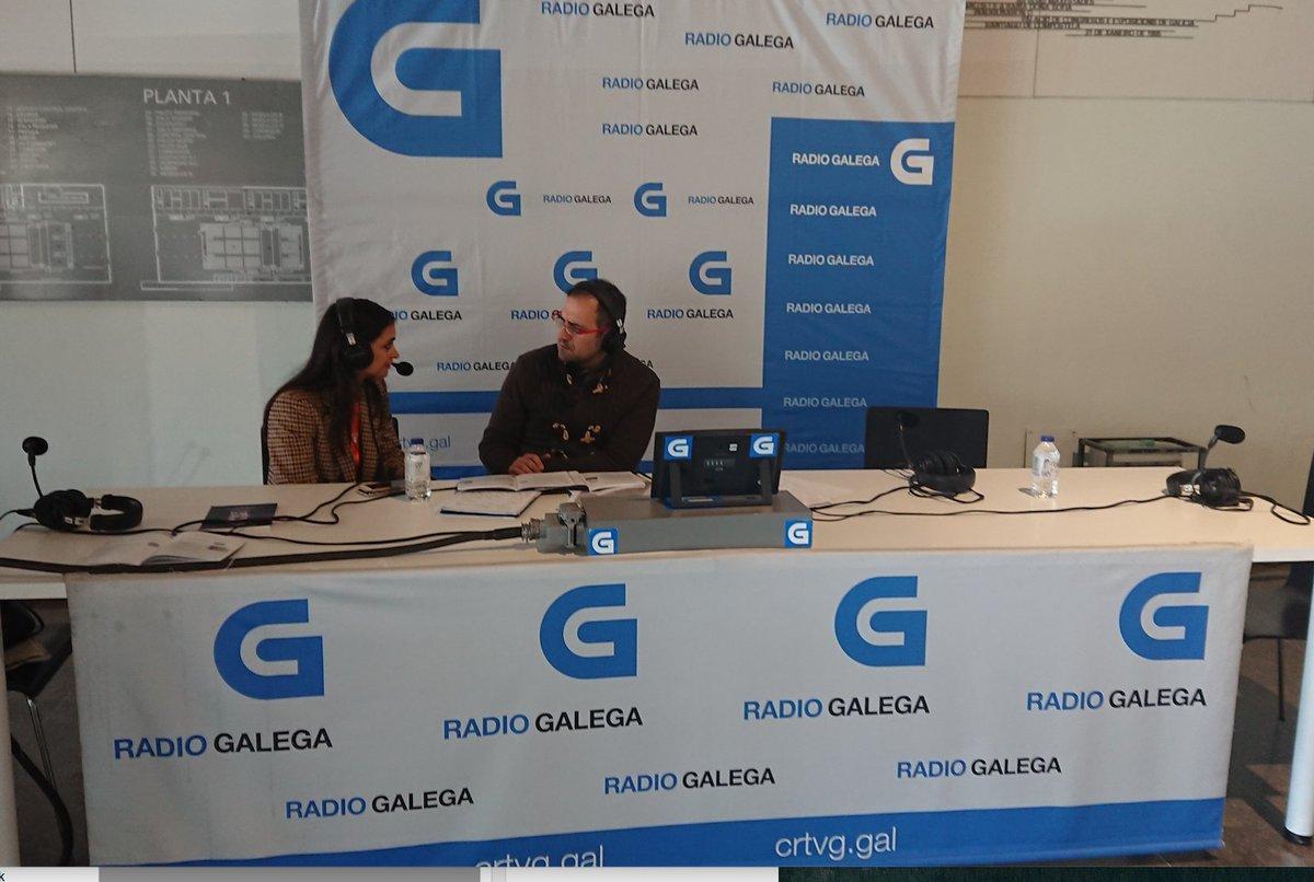 Nuestra compañera Carmen González, TIC & Digital Business Director Zona Noroeste de @ZemsaniaGroup, ayer en los🎙de la @RadioGalega hablando sobre innovación, talento y orientación laboral en el #TalentiaSummit2019 👏