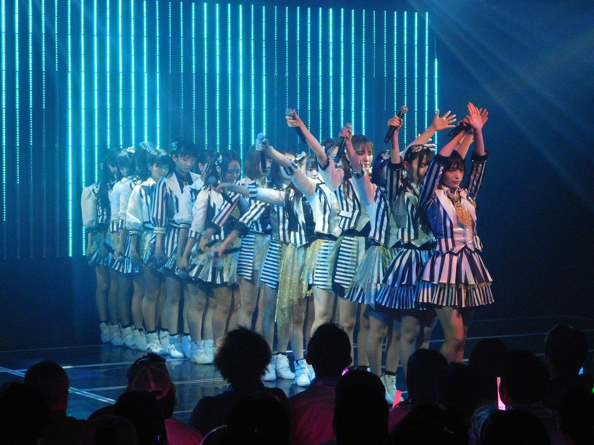 23日(水)#2番目のドア 公演21stシングルチームBⅡ曲『#ジュゴンはジュゴン』を劇場初披露!!一度聴いたら忘れられない魅力的な楽曲になっておりますので是非劇場でご覧ください!本日ご来場いただきました皆様、誠にありがとうございました!