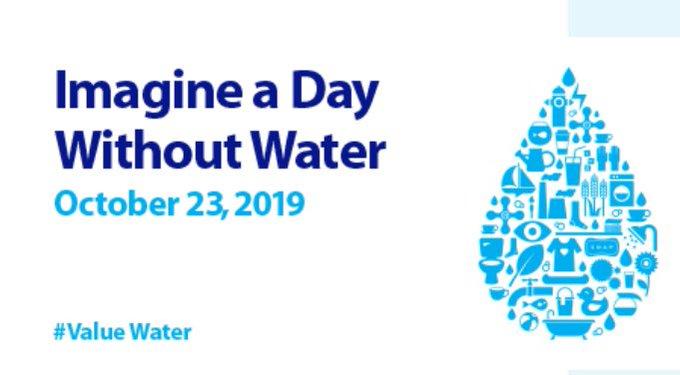 Imagina un día sin agua. ¿Qué es lo que más echarías de menos?   #ValueWater #ImagineADayWithoutWater https://t.co/fljY7F6oau