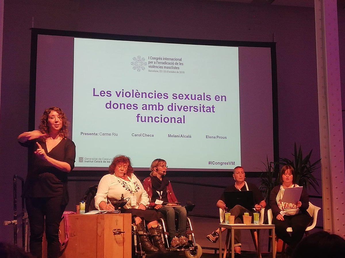 test Twitter Media - @icdones @Nosolopam 👥Continuem al segon dia del #ICongresVM  Avui, a la conferència 'Les violències sexuals en dones amb diversitat funcional'  ⬇️ ⬇️ https://t.co/qRJd3eEitN