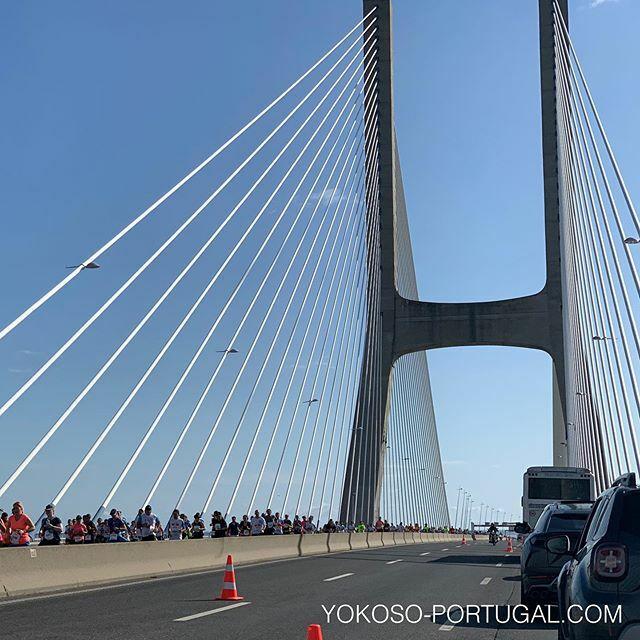 test ツイッターメディア - 先日行われたリスボンマラソン大会。ヨーロッパで2番目に長い、12.3kmあるバスコダガマ橋走ります。 #リスボン #ポルトガル https://t.co/RGckbikkSP