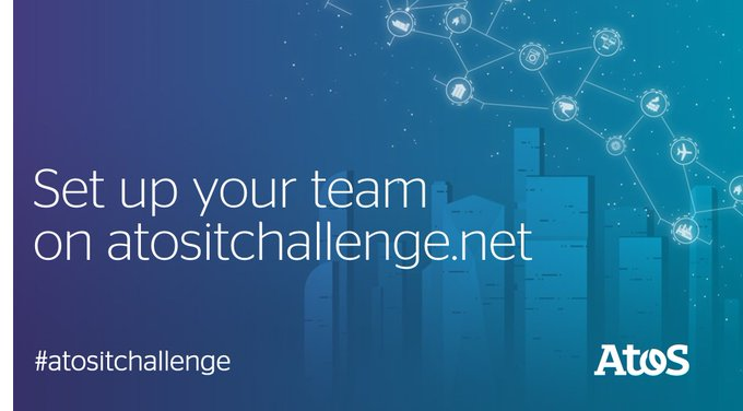 Find your teammates, and register to the 2020 #atositchallenge #AI don't forget you should be...