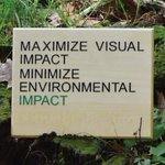 Image for the Tweet beginning: Sustainable ADA Signage – Top