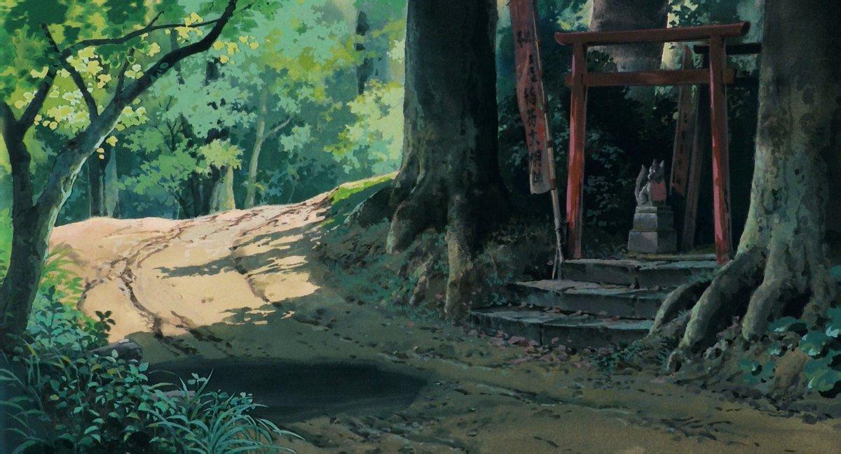 Tohad On Twitter Backgrounds My Neighbor Totoro Tonari No