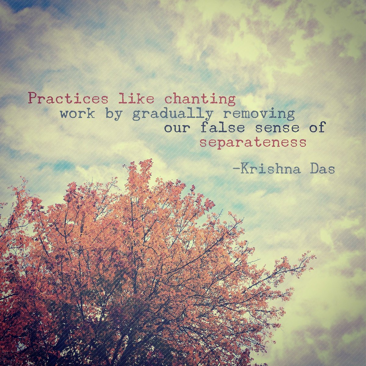 @KrishnaDas's photo on #WisdomWednesday