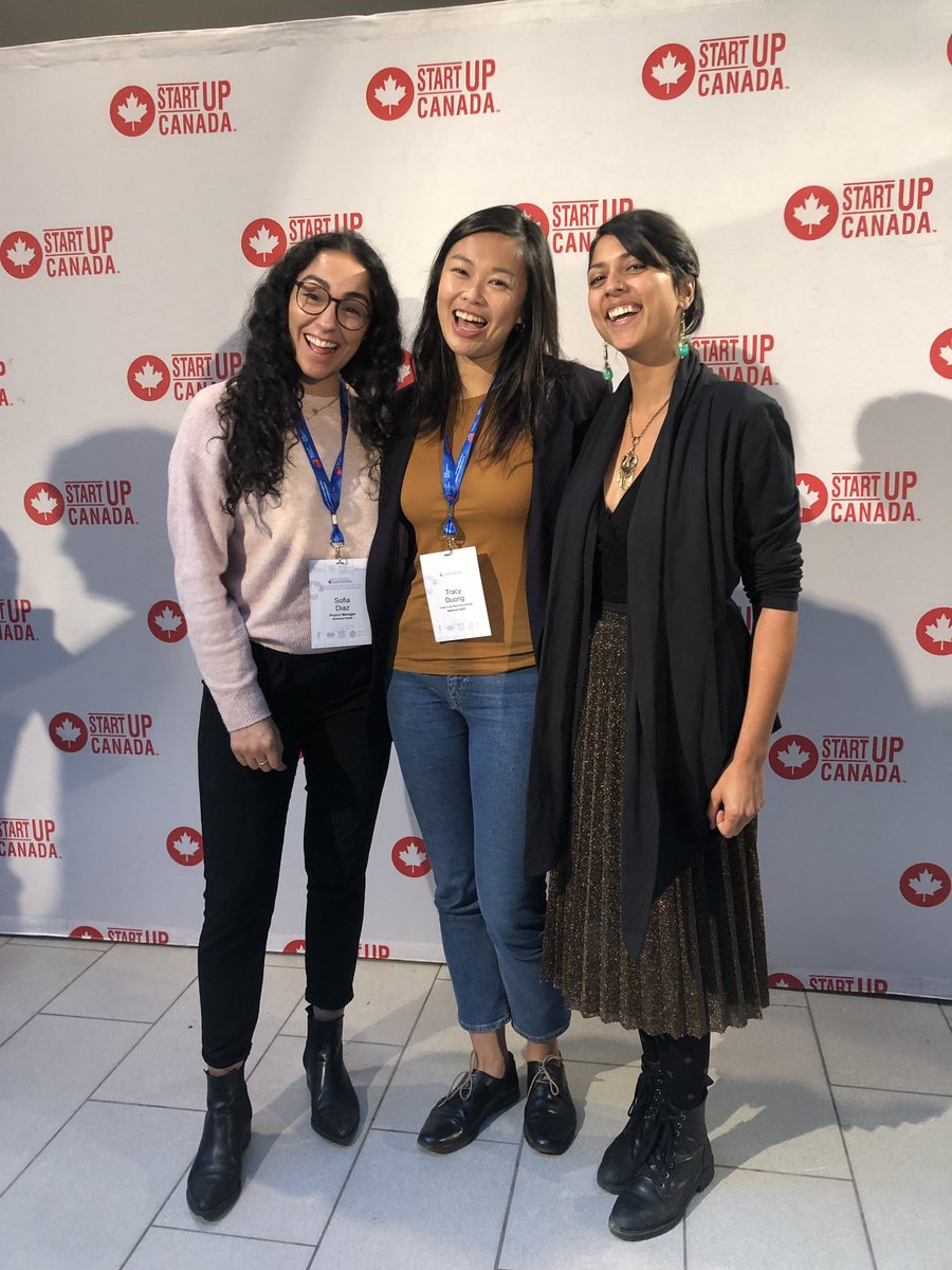 Bowhead team outing and pitch day at @Startup_Canada! @bowheadhealth #CanadianExportChallenge #GlobalEntrepeneur https://t.co/4MJuQhm9Le