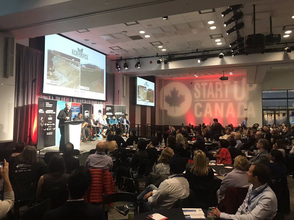 We are LIVE in #Toronto for the #CanadianExportChallenge at @MaRSDD, taking in the amazing pitch finalists. You can watch now on the @Startup_Canada Twitter feed. #GlobalEntrepreneur @TCS_SDC @ExportDevCanada @UPS_Canada @MastercardCA https://t.co/2rwW3HUnPA