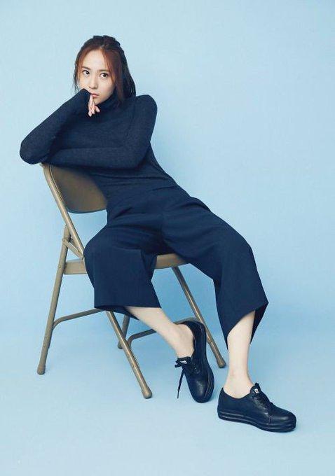 Happy birthday, Krystal Jung