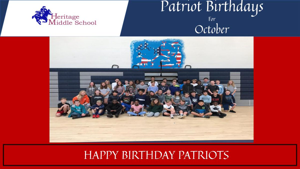 Happy Birthday Patriots! See someone you know?  #theheritageway <br>http://pic.twitter.com/7sB60uBLJx
