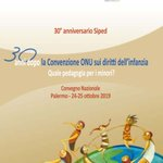 Image for the Tweet beginning: Ad #UniPa il Convegno Nazionale