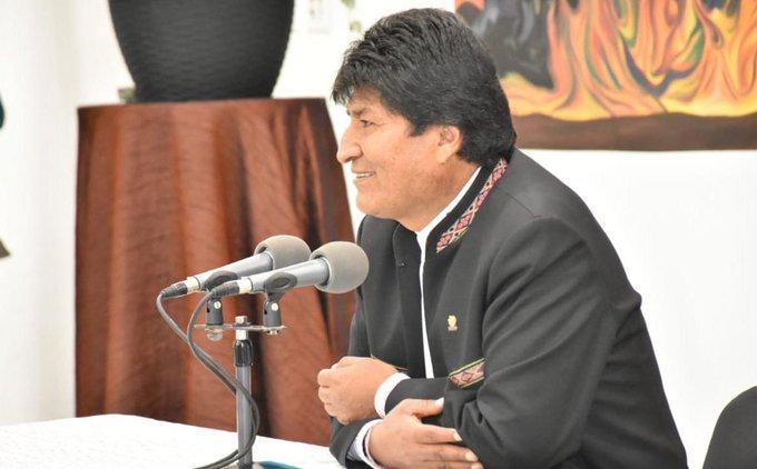 Bolivia's President recalled Commander Camilo Cienfuegos.