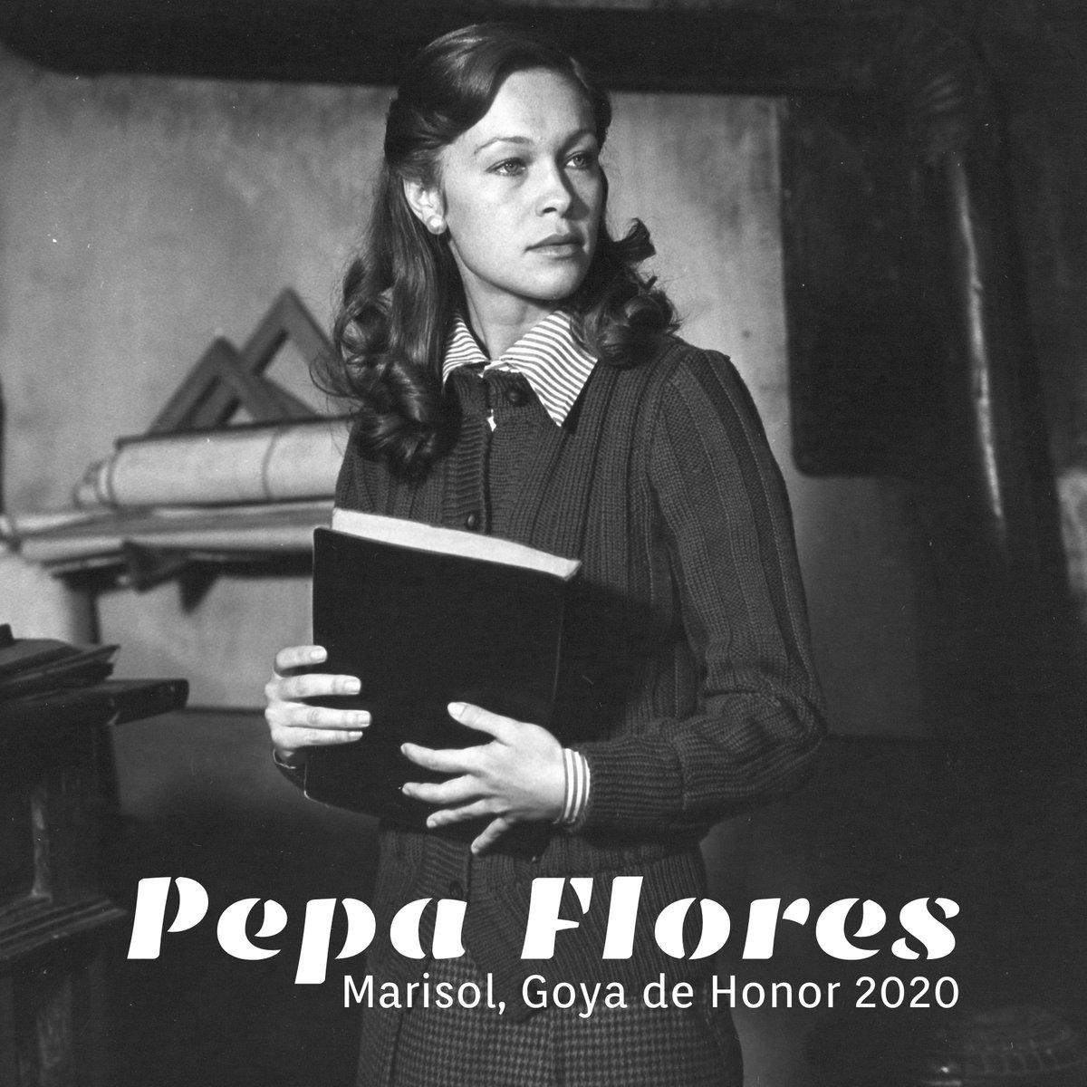 Pepa Flores, Marisol, recibirá el #Goya2020 de Honor en Málaga, su ciudad. premiosgoya.com/pepa-flores-go…