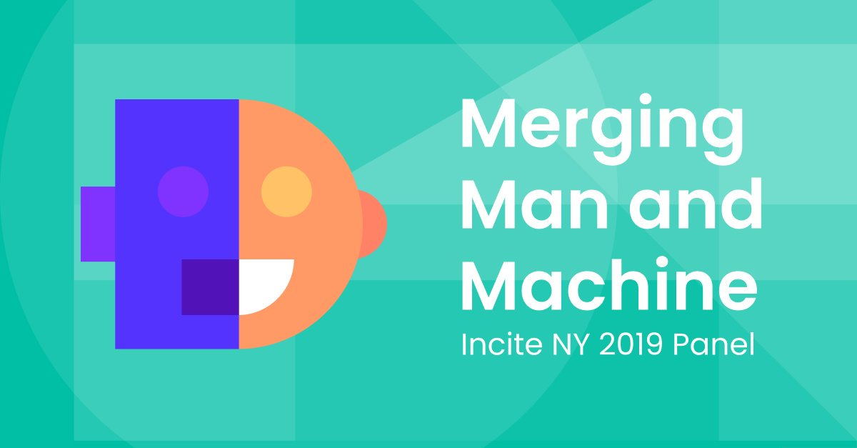Don't miss our Co-Founder, Sami Ghoche, on stage at @Incite_Group NYC today at 4:20PM on the Interactive Panel Discussion. #incitesummit #AI