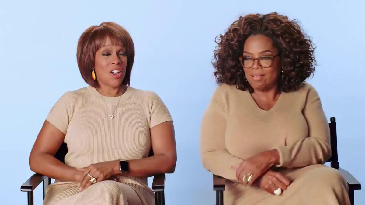 Snack, thirst trap, and thicc? See if @oprah and @gayleking are up to date with todays slang!