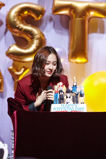 Happy birthday to me and all rp\s Krystal Jung!