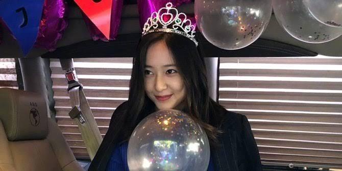 Happy Birthday buat mantan calon adik ipar saya, Krystal Jung!