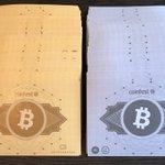 Image for the Tweet beginning: #CoinFestUK themed bitcoin notes. @MonetaryUnit