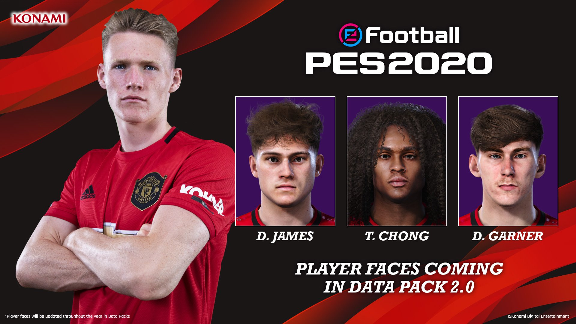 Konami Gives PES 2020 New Updates Now Player S Faces Will