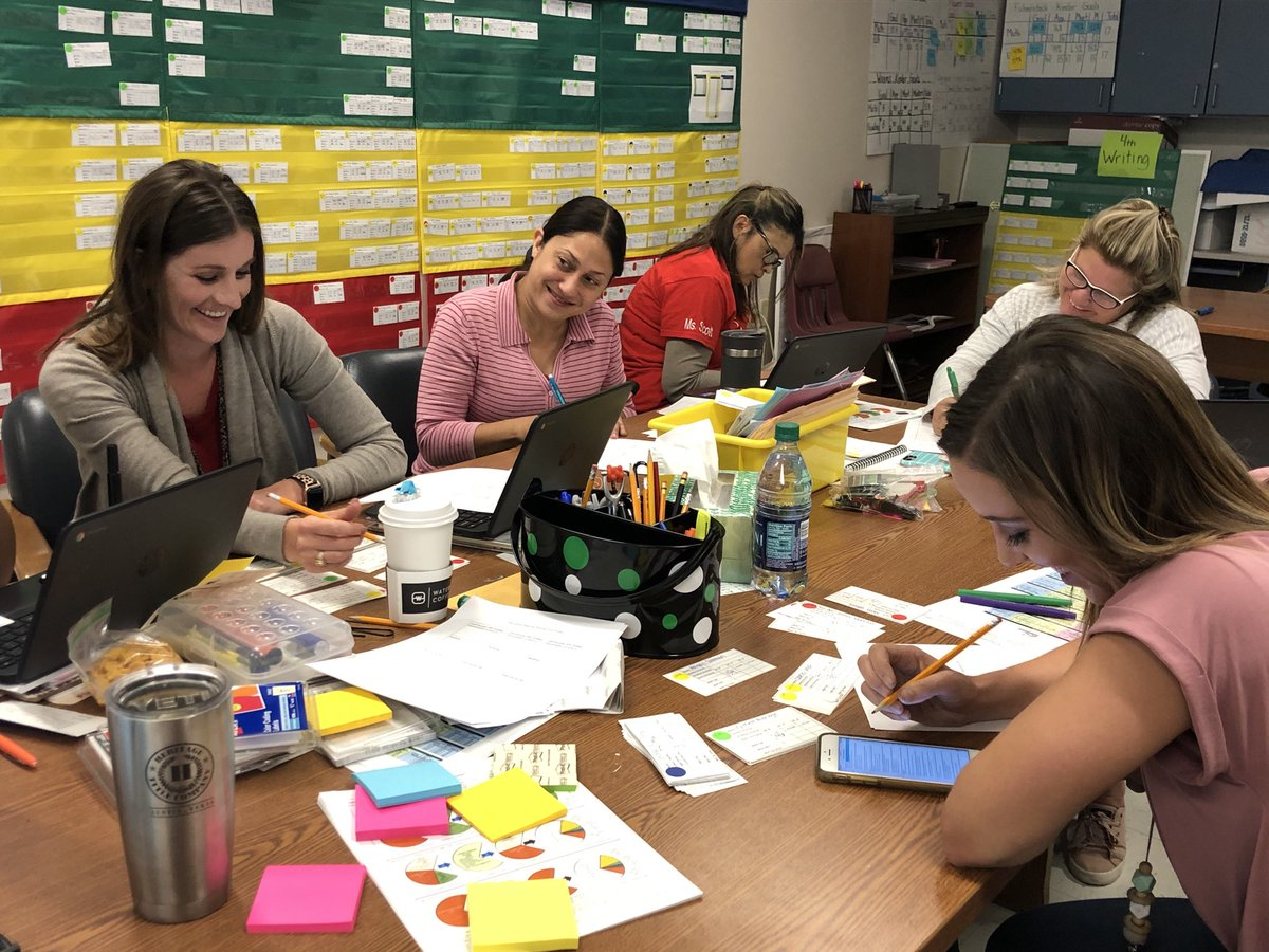 @McWhorterES #mcwgameon Great deep dive into data today with Kinder and 1st grades