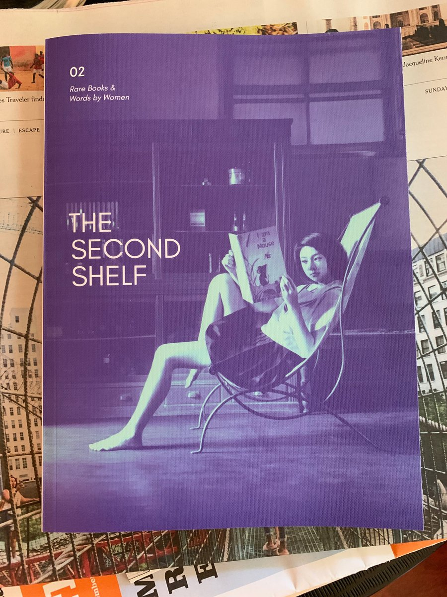 The @secondshelfbks magazine/catalog is a thing of delirious beauty + v cruelly designed to bankrupt me