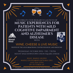 Image for the Tweet beginning: Join @MSHSMusicMed's wine, cheese &